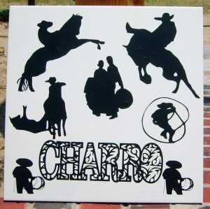 Charro Tile For Brother-in-Law