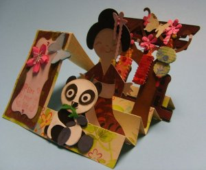 Cherry Blossom Card for Thienly