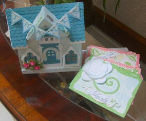Peony Cottage and Cards
