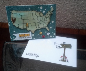 Card Map and Sending Love Envelope