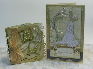 Mini Album and Wedding Card