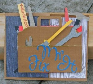 Mr Fix It Card For Sick Husband