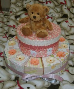 Paper Cake for Baby Shower