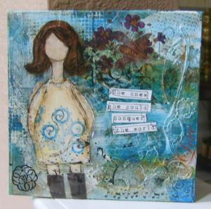 She Girl Mini Canvas