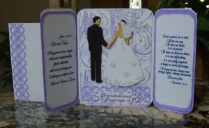 Wedding Card for Veronica and Sal