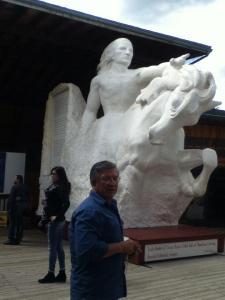 DadAndSculpture